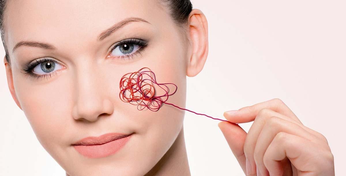 Tretman ispucalih kapilara i crvene kože